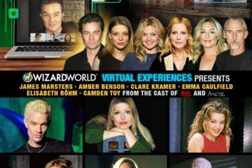 """La Wizard World lance l'ingénieuse innovation d'une convention en visioconférence avec 6 acteurs """"Buffy"""" et """"Angel"""""""
